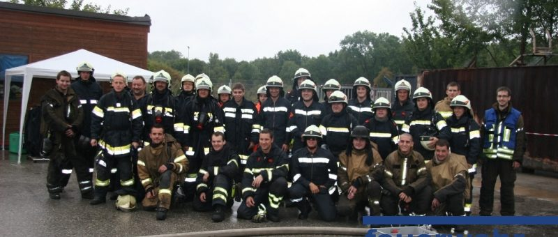 Heiße Atemschutzausbildung fÜr Wagramer Feuerwehrleute