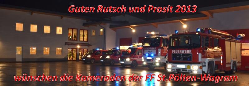Guten Rutsch und Prosit 2013!