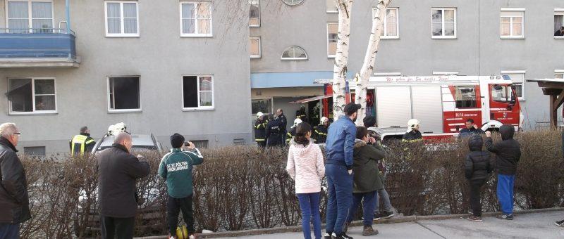 Zimmerbrand in der Heimito v. Dodererstraße