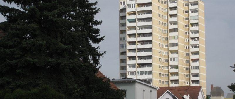 Kleinbrand im Stattersdorfer Hochhaus