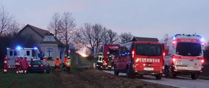 Verkehrsunfall in Stattersdorf