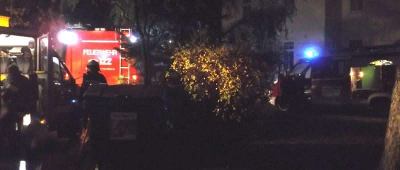 Wohnungsbrand in der Passauer Straße