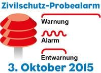 Zivilschutz-Probealarm in ganz österreich