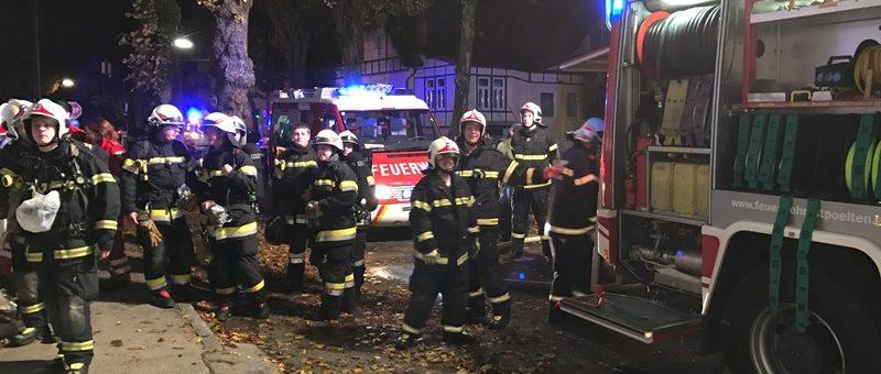 Brand eines Schuppens in der Heidenheimer Straße