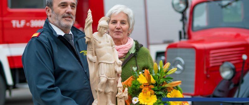 Wagramer Feuerwehrkommandant feiert seinen 60er