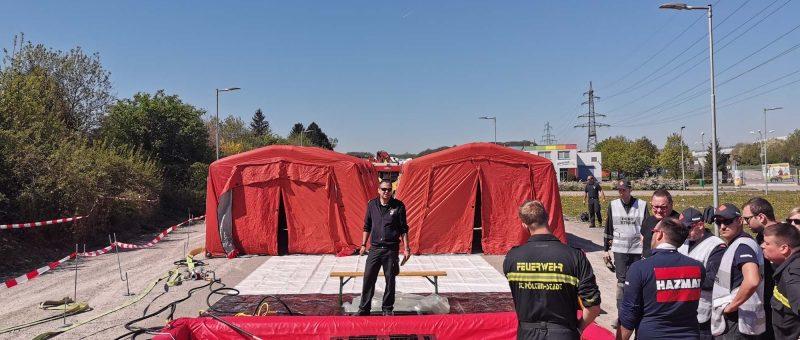 Deko-Schulung der Schadstoff-Gruppe des Abschnitts St.Pölten-Stadt