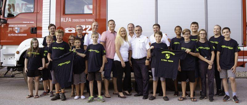 Die Feuerwehrjugend im neuen Gewand