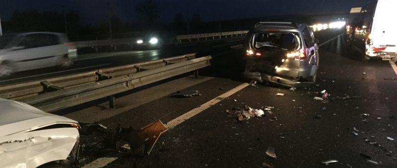Massenunfall auf der Kremser Schnellstraße