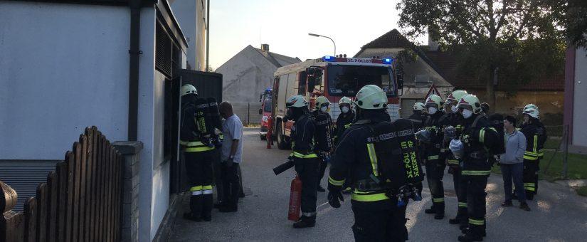 Trafobrand in St. Pölten-Stattersdorf