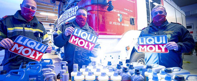 Millionenspende von LIQUI MOLY für Rettungsdienste und Feuerwehren